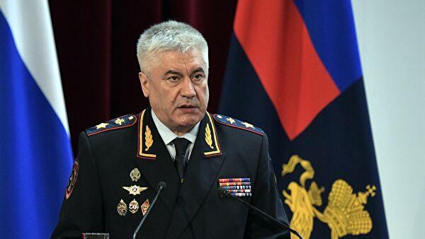 Глава МВД Владимир Колокольцев. Фото: РИА «Новости»