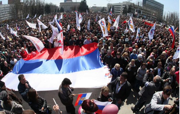 Харьковская могила «Русской весны»